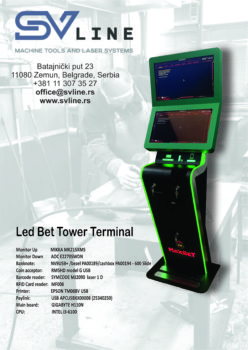 Led Bet Tower Terminal