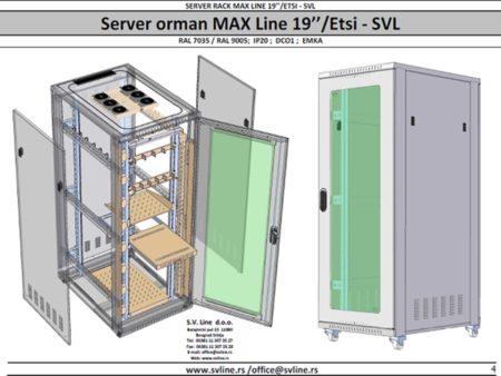 Server box max line 19″