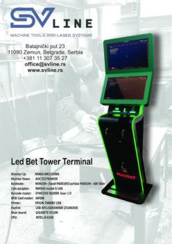 Led Bet Tower Terminal